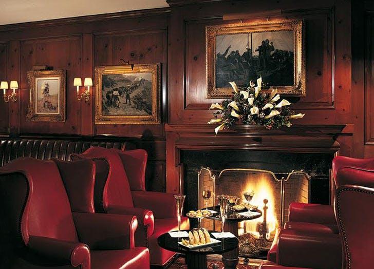 21 club fireplace nyc