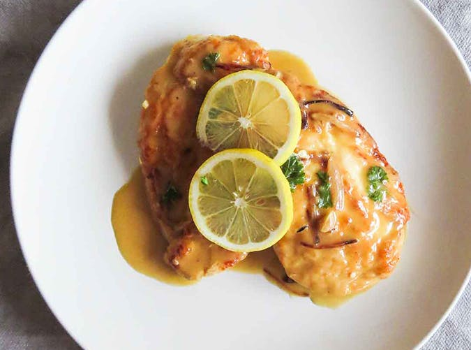 30 Minute Chicken Piccata recipes for two people