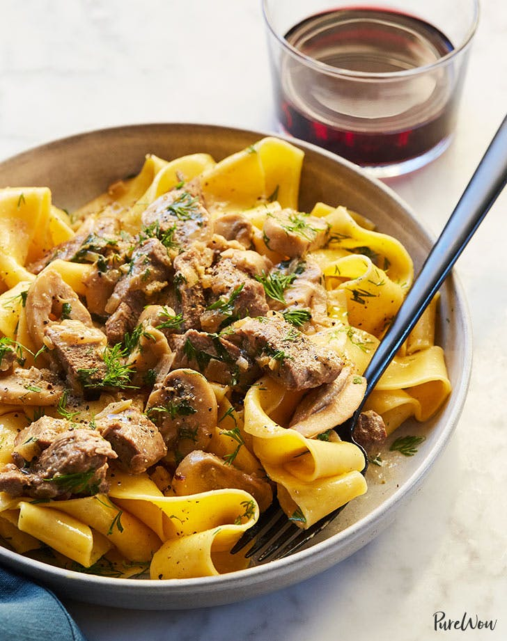 30-Minute Cheater's Beef Stroganoff