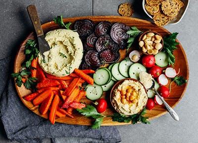 5 minute macadamia cheese vegan crudite 290