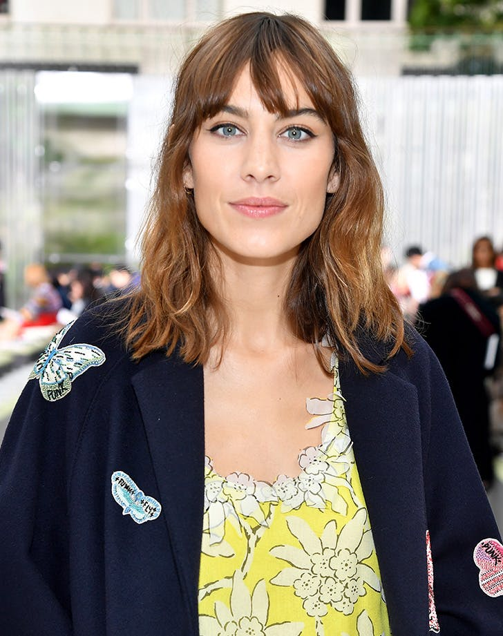 Alexa Chung medium length hair