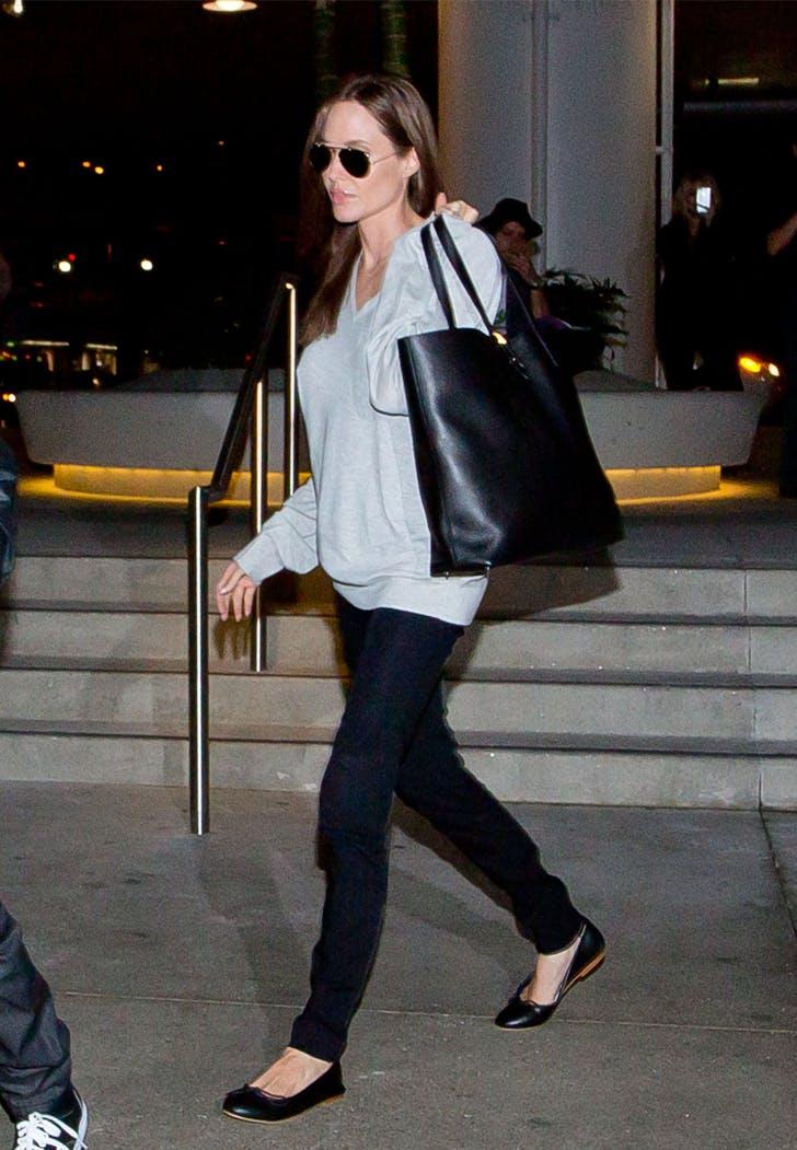 Angelina Jolie Everlane Tote