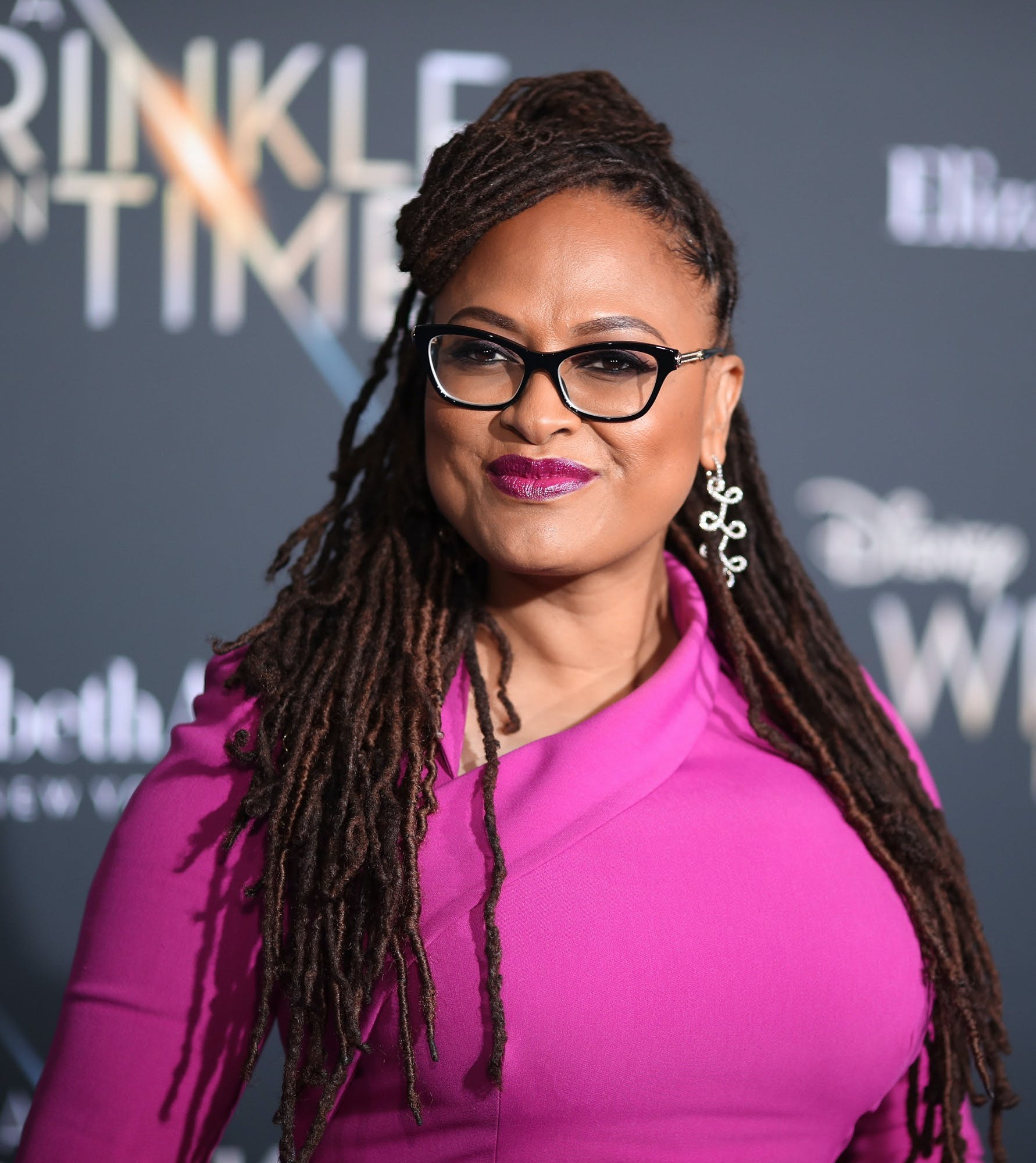 Ava DuVernay at the premier of A Wrinkle In Time