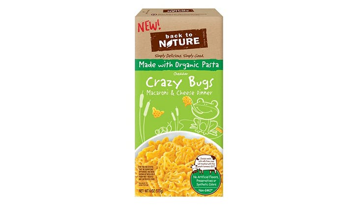 Back to Nature Crazy Bugs and Cheddar Macaroni and Cheese