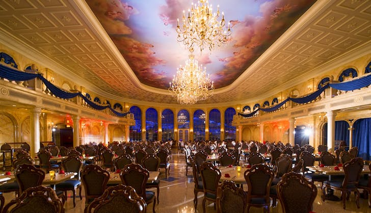 Be Our Guest Restaurant disney world orlando fl