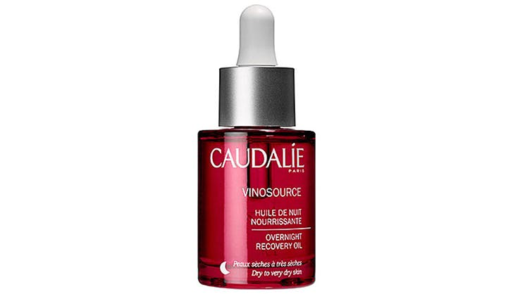 Caudalie Vinosource Overnight Recovery Oil for dry skin