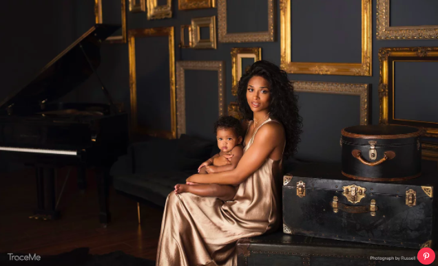 Ciara shares first photo of daughter Sienna