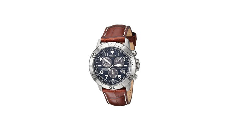 Citizen leather watch1