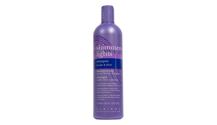 Clairol Professional Shimmer Lights Shampoo Blonde   Silver