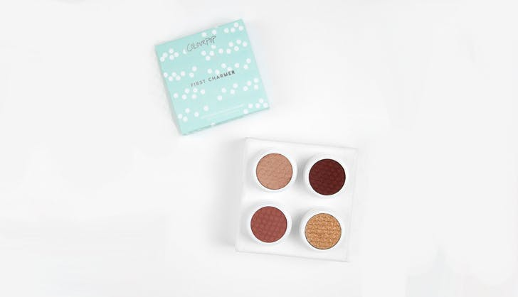 ColourPop eyeshadow foursome
