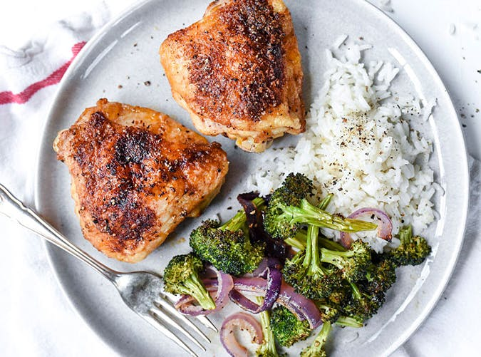 Crispy Smoked Paprika Chicken recipes for two people