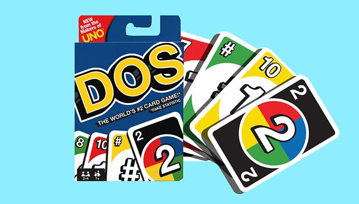 Dos Is a Slightly Smarter Version of Uno (and Don't Worry, You Still Get to Yell)