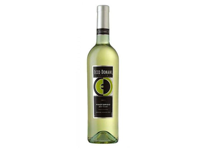 Ecco Domani Pinot Grigio white keto wine