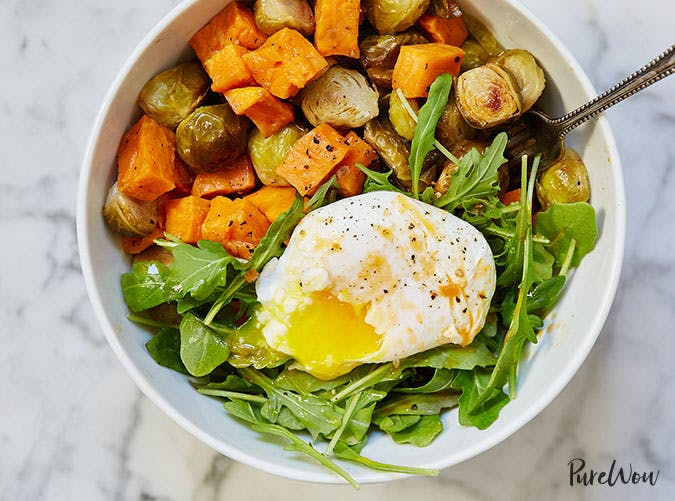 Egg and Veggie Breakfast Bowl Recipe
