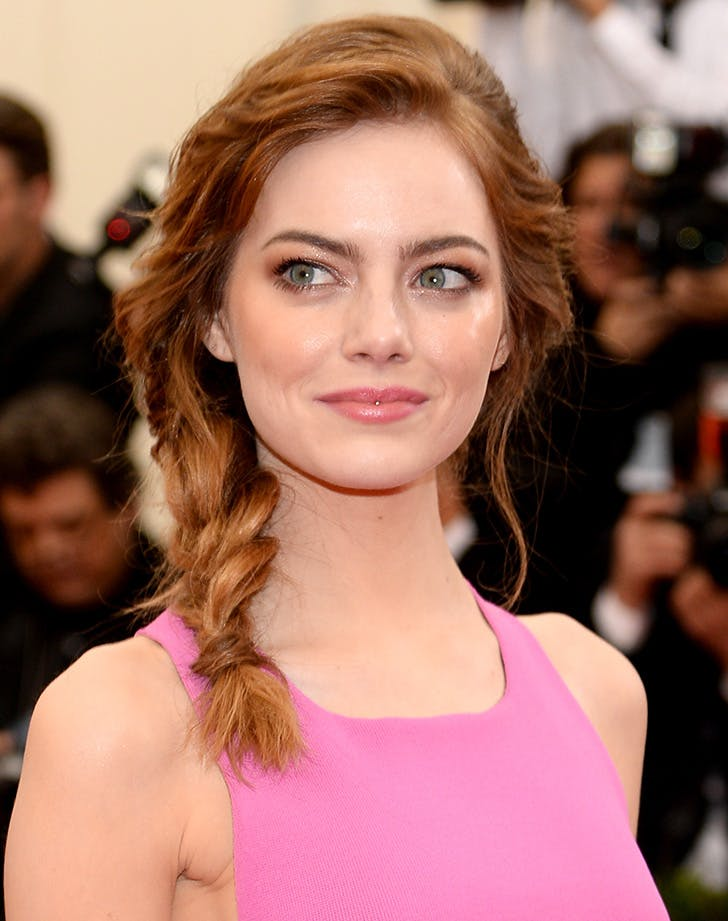 Emma Stone medium length hair