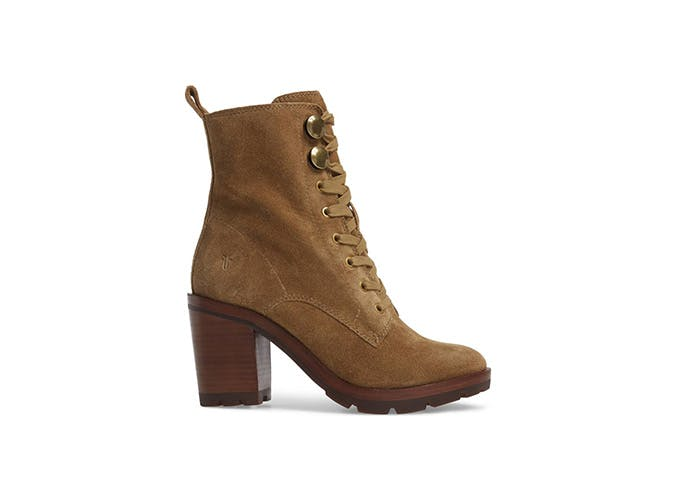 Frye Lace Up Combat Boot