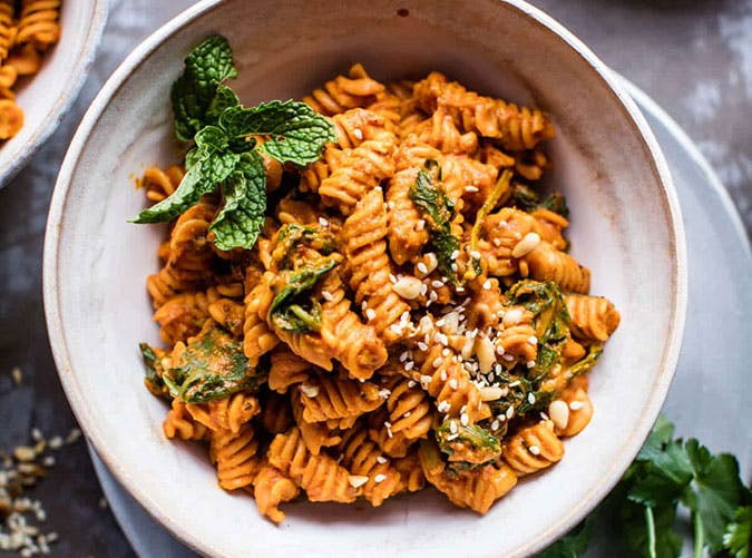 Golden Sun Dried Tomato Red Lentil Pasta Anti Inflammatory Recipe