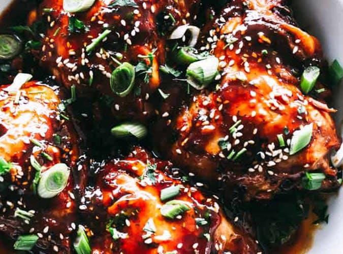 Instant Pot Honey Garlic Chicken recipe
