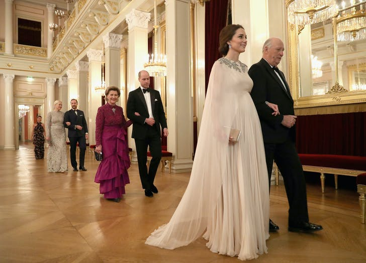 Kate Middleton Norway royal palace