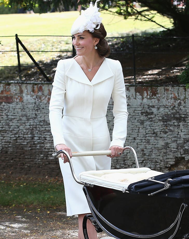 Kate Middleton White Christening Coat