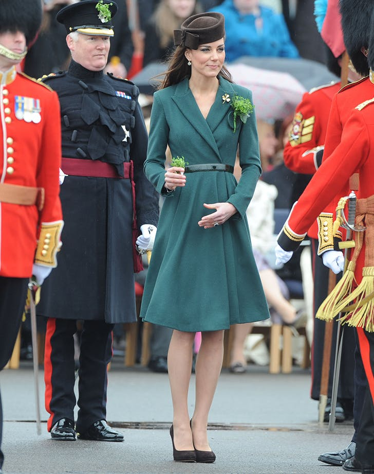 Kate Middleton green st patricks coat