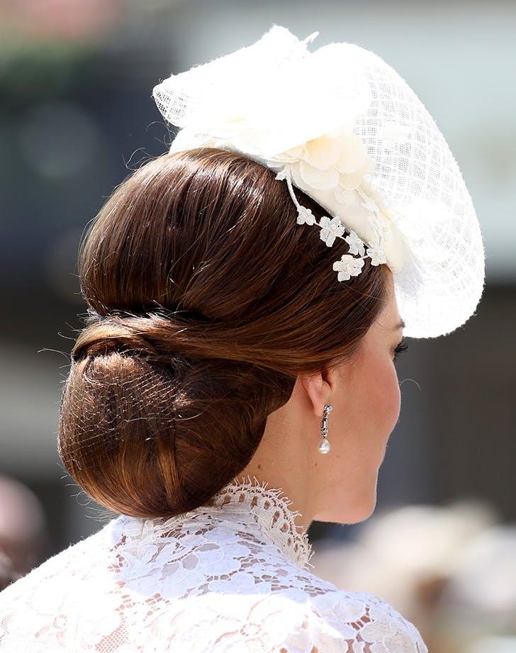 Kate Middleton hairnet 2
