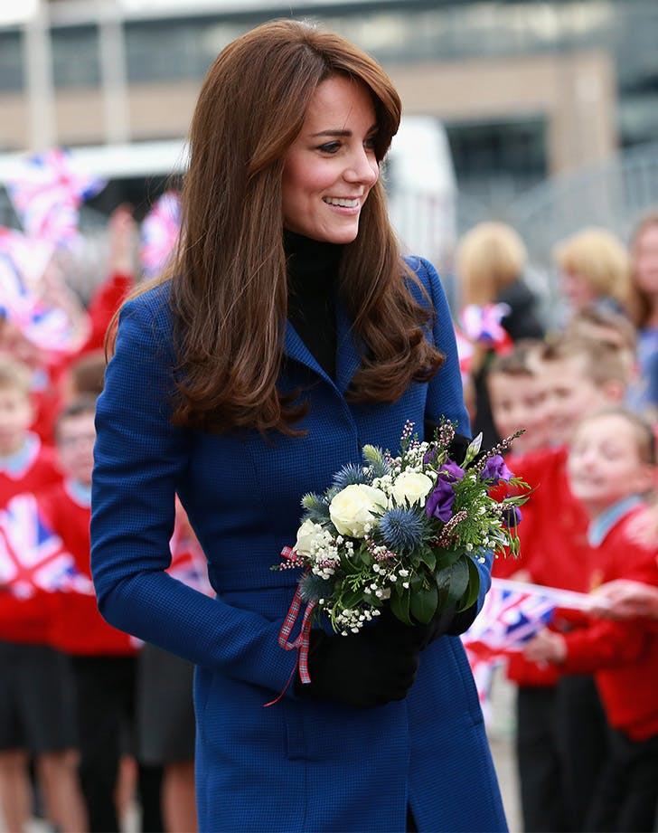 Kate Middleton navy coat