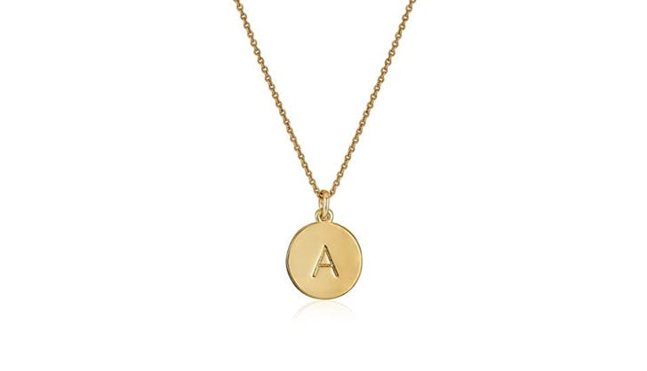 Kate Spade initial necklace1