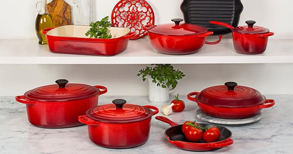 le creuset cookware is on sale right now 2018 purewow. Black Bedroom Furniture Sets. Home Design Ideas