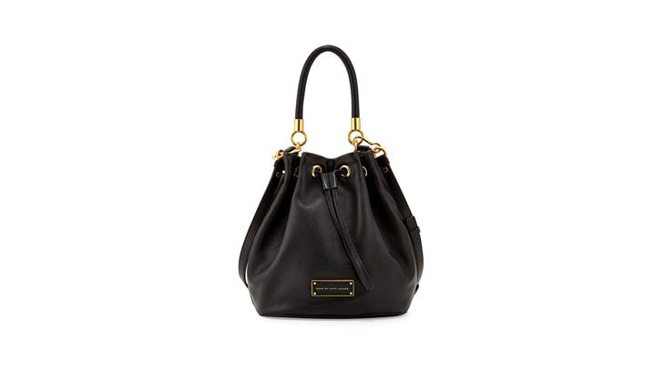 Marc Jacobs Leather Mini Bucket Bag