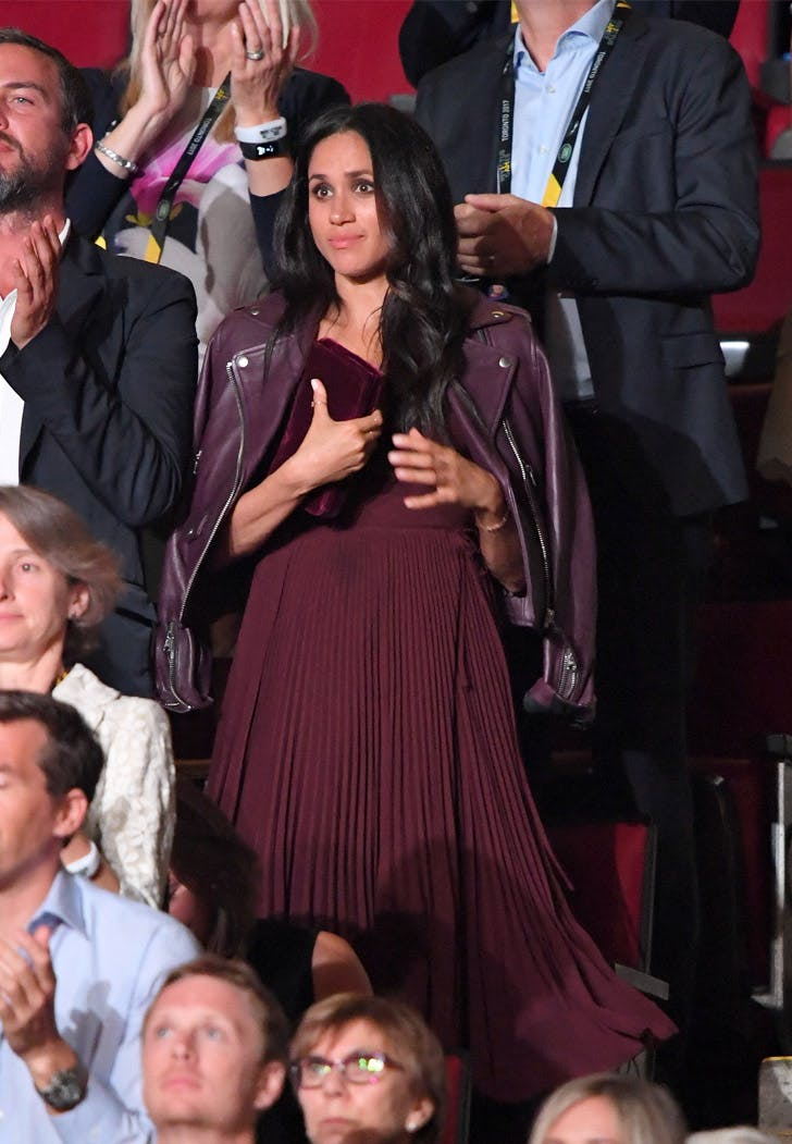Meghan Markle Invictus Games Red Outfit