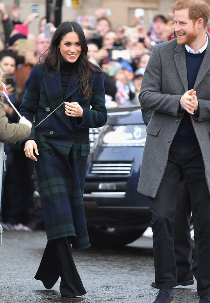 Meghan Markle Shopping Guide Tartan Jacket