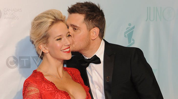 Bublé Baby No. 3 Is on the Way
