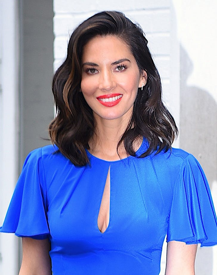 Olivia Munn medium length hair