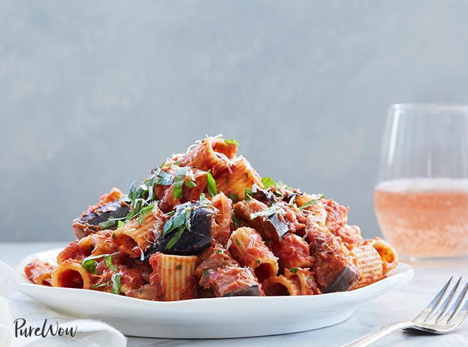 Pasta Alla Norma recipes for two people