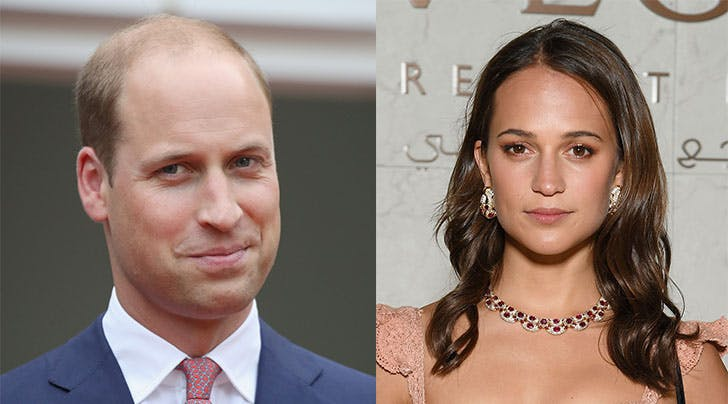 Alicia Vikander Asked Prince William About 'The Crown' Over Dinner & Now She's Our Hero