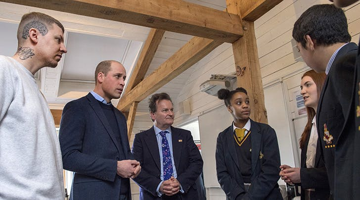 Prince William Gets Real About Unrealistic Beauty Standards