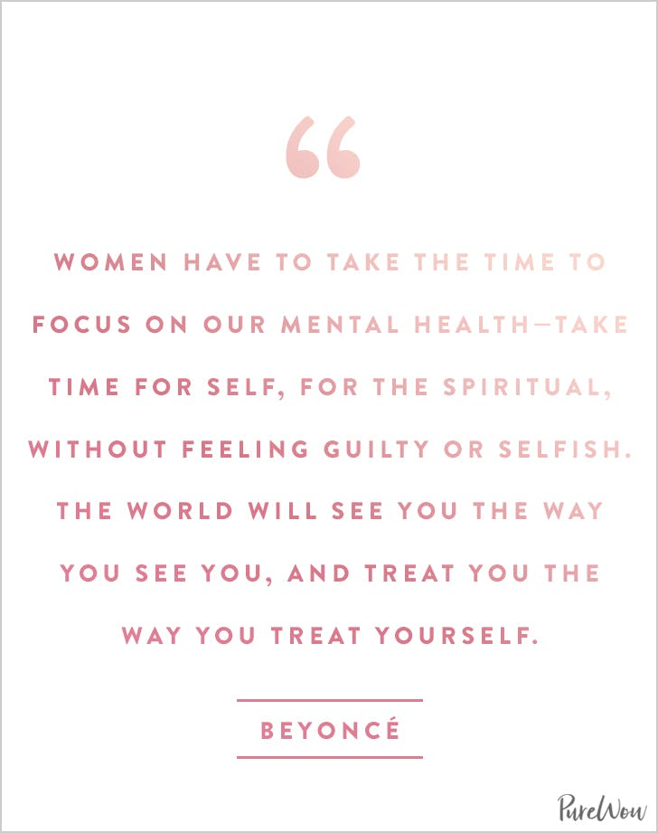 8 Real And Inspiring Quotes About Self Care Purewow