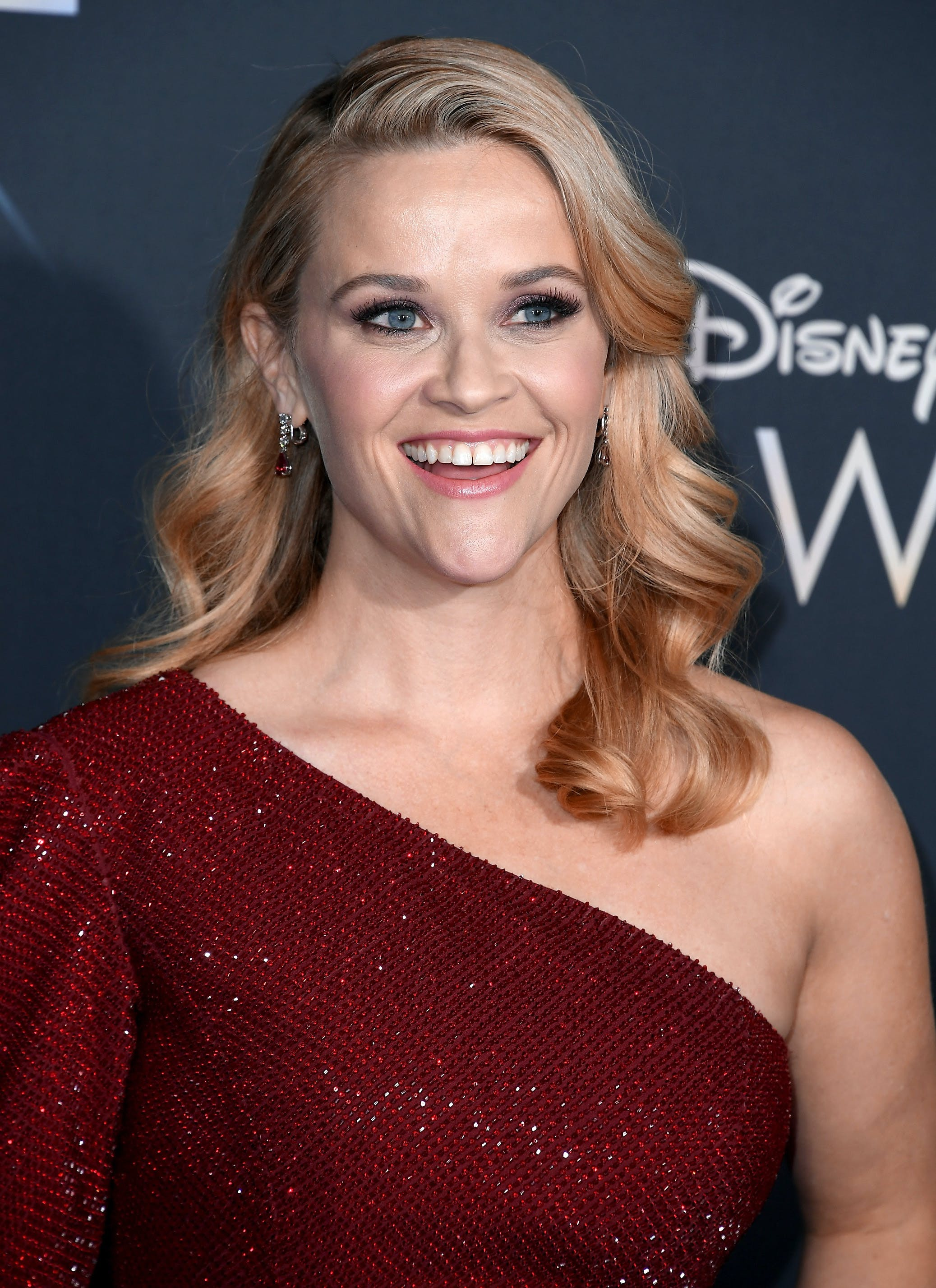 Reese Witherspoon at the premier of A Wrinkle In Time