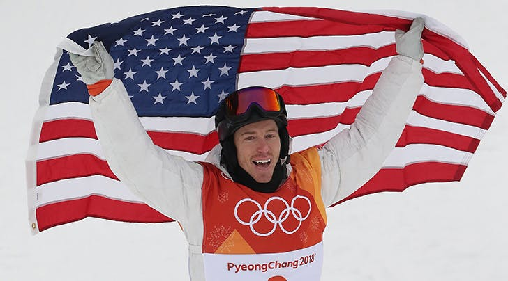 Shaun White Breaks Down in Tears as He Makes History with Third Olympic Gold Medal