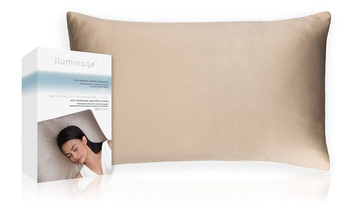 Skin Rejuvenating Pillowcase With Copper Oxide for better skin