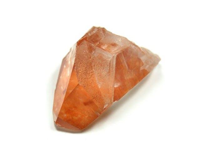 Tangerine Quartz Crystal