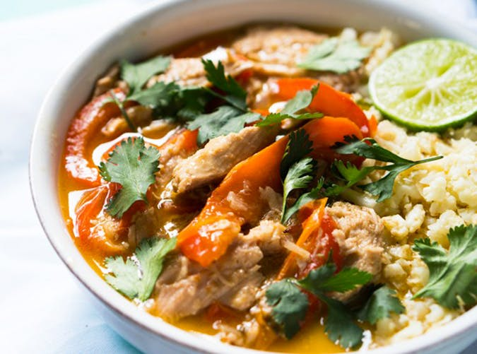 Thai Coconut Curry Chicken SS