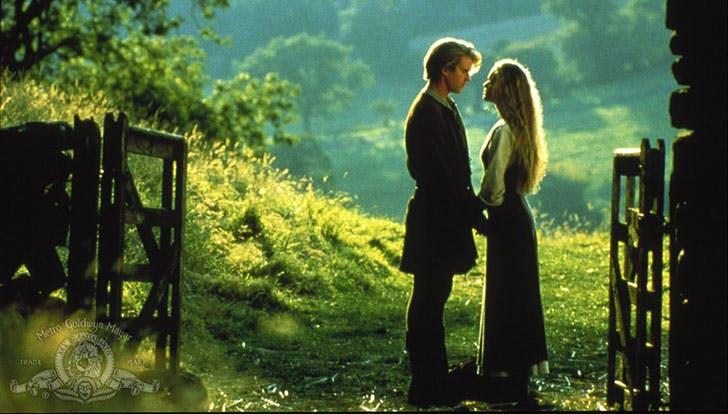 The Princess Bride rom com movie