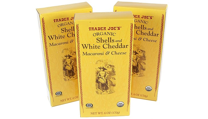 Trader Joe s Organic Shells and White Cheddar