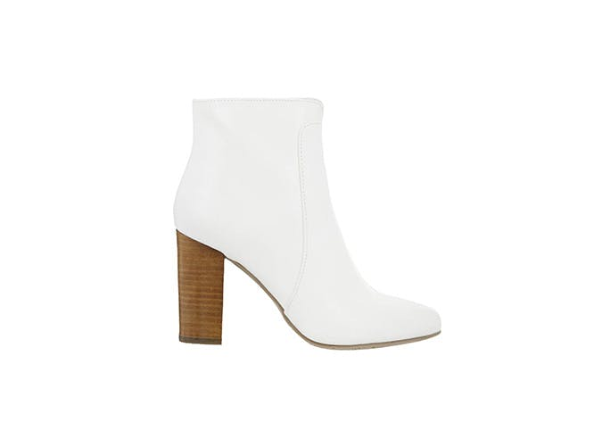 VIA White booties