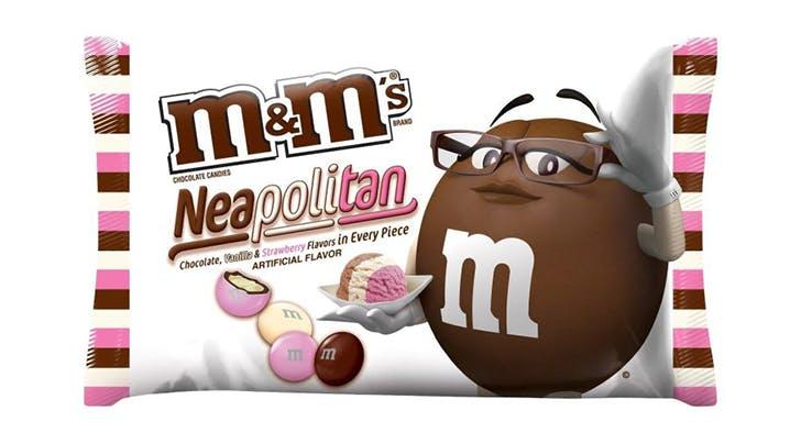 Image result for neapolitan M&M's
