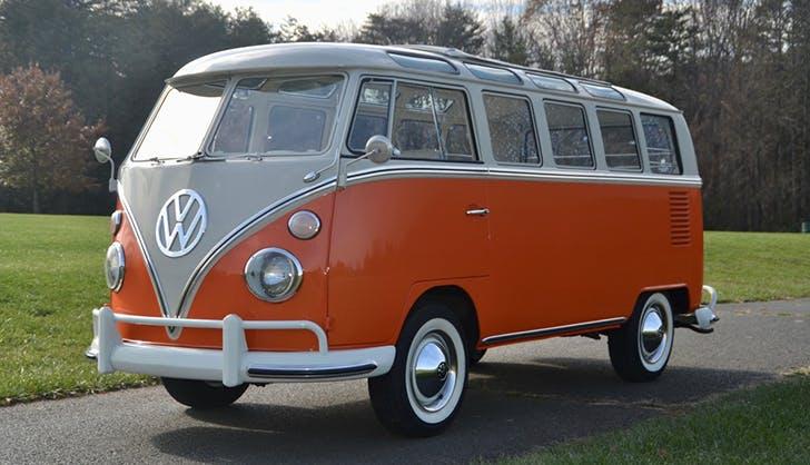 a vintage vw bus