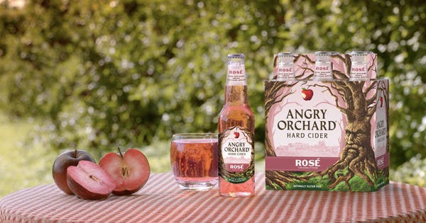 Angry Orchard Just Released Rosé Hard Cider (and Summer Can't Come Fast Enough)