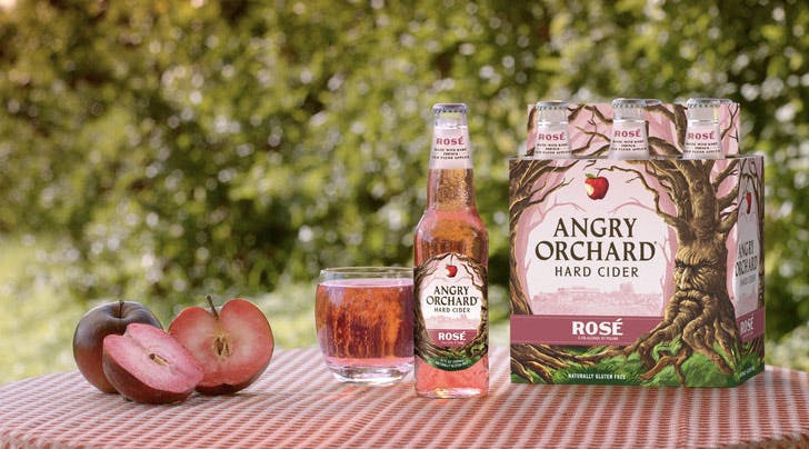 Angry Orchard Just Released Rosé Hard Cider (and Summer Cant Come Fast Enough)